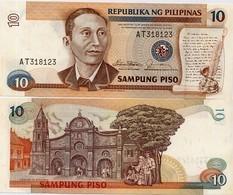PHILIPPINES       10 Piso       P-169a       ND (1985)       UNC - Philippinen
