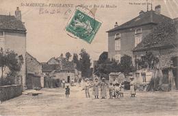 21 - ST-MAURICE -sur- VINGEANNE - Place Et Rue Du Moulin - Francia