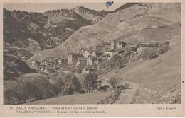 CPA Valls D'Andorra - Poble De Pal I Coll De La Botela - Andorra