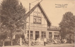 Rixensart - Restaurant Du Chalet - Prop. J. Piérrard - Très Animée , Version RARE - Rixensart