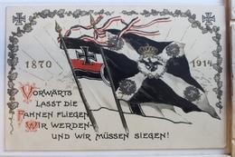 AK Deutschland Kriegskarte Feldpost 1914 Gebraucht #PD658 - Sin Clasificación