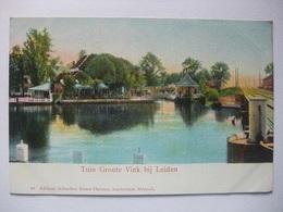 M74 Ansichtkaart Tuin Groote Vink Bij Leiden - Leiden