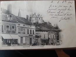 GRANDPRE La Place Et Le Chateau - Altri Comuni