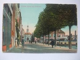 M74 Ansichtkaart Leiden - Haven Met Zeilpoort - Leiden