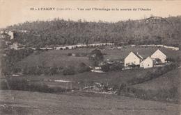 21 - LUSIGNY - Vue Sur L'Hermitage Et La Source De L'Ouche - Autres Communes