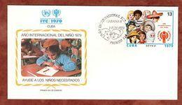 FDC, Jahr Des Kindes, Habana 1979 (73093) - FDC