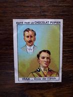 L20/51 Chromo Image Chocolat Pupier. Irak. Rois De L'Irak - Altri