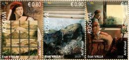 Kosovo Stamps 2019. Visual Art - Esat Valla. Set MNH - Kosovo