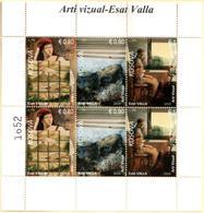 Kosovo Stamps 2019. Visual Art - Esat Valla. Sheet MNH - Kosovo
