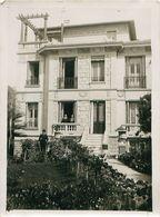 Lot 3 Photos 13x18cm NICE 06, Villa ROYER Avenue Cyrnos - Photos Louis TENCHINI NICE - Lieux