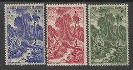 AFRIQUE EQUATORIALE FRANCAISE - AEF - A.E.F. - 1947 - YT 211/213** - MNH - A.E.F. (1936-1958)