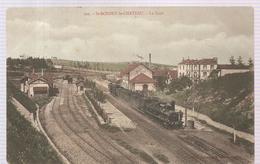 CPA Saint Bonnet Le Château (42) La Gare De 1905 - France