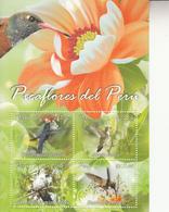 2013 Peru Hummingbirds Oiseaux Souvenir Sheet    MNH - Perù