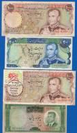 Iran  4  Billets  Dans  L'etat - Iran