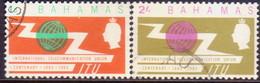 BAHAMAS 1965 SG #262-63 Compl.set Used ITU Centenary - Bahamas (...-1973)