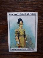 L20/55 Chromo Image Chocolat Pupier. Mandchoukouo. L'Empereur Kang Teh - Altri
