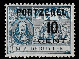 1907 Port NVPH P38 **/Postfrisch. See Description - Portomarken