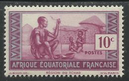 AFRIQUE EQUATORIALE FRANCAISE - AEF - A.E.F. - 1943 - YT 191** - Neufs