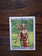 L20/56 Chromo Image Chocolat Pupier. Indes Néerlandaises. Acteur Javanais - Altri
