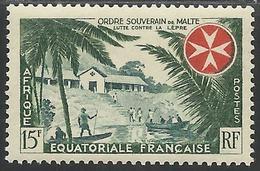 AFRIQUE EQUATORIALE FRANCAISE - AEF - A.E.F. - 1957 - YT 237** - MNH - A.E.F. (1936-1958)