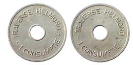 03232 GETTONE TOKEN JETON THE NETHERLANDS VENDING TRAVERSE HELMOND 1 CONSUMPTIE - Unclassified