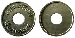 03840 GETTONE TOKEN JETON CONTROL JUGENDLICHE WERTMARKE - Germany