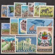Tanzania - 1965 - N°Mi. 5 à 18 - Série Complète - Neuf Luxe ** / MNH / Postfrisch - Tanzanie (1964-...)