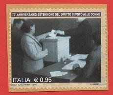 2016 (3694) 70º Anniversario Del Diritto Di Voto Alle Donne - Leggi Il Messaggio Del Venditore - 2011-...: Usati