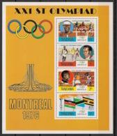 Tanzania - 1976 - N°Mi. Bloc 2 - Olympics / Montreal 76 - Neuf Luxe ** / MNH / Postfrisch - Tanzania (1964-...)