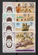 Tanzania - 1977 - N°Mi. 70 à 73 - Festival Arts Nègres - Neuf Luxe ** / MNH / Postfrisch - Tansania (1964-...)