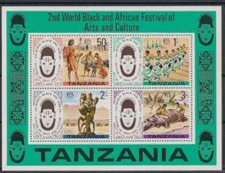 Tanzania - 1977 - N°Mi. Bloc 5 (70) - Festival Arts Nègres - Neuf Luxe ** / MNH / Postfrisch - Tansania (1964-...)