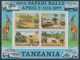 Tanzania - 1977 - N°Mi. Bloc 6 (74) - Safari Rallye - Neuf Luxe ** / MNH / Postfrisch - Tanzania (1964-...)