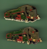 LOCOMOTIVE *** Lot De 2 Pin's Differents *** 1002 - TGV