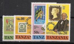 Tanzania - 1980 - N°Mi. 141 à 144 - Sir Rowland Hill - Neuf Luxe ** / MNH / Postfrisch - Rowland Hill