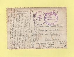 FFI Du Sud Ouest - Bataillon Antoine - Croix De Lorraine - Tete De Mort - Par BCM Toulouse - Voir Texte - Rare - Guerra De 1939-45
