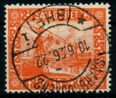 SAARGEBIET LANDS.BILD Nr 98 Zentrisch Gestempelt X71653E - 1920-35 Saargebiet – Abstimmungsgebiet
