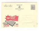 Publibel Neuve N° 1624 A  + CU ( Matelas STAR  ZELE)  Mauvaise Découpe  Vue De La Carte N° 1631 - Stamped Stationery