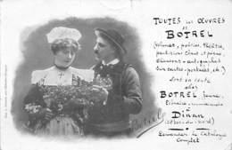 DINAN - BOTREL - Le Sillon , Soirée Du 4 Février 1903 - Très Bon état - Dinan