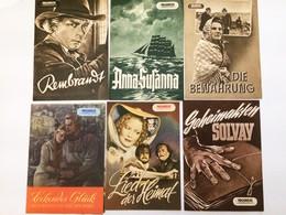 37 PROGRESS-FILMILLUSTRIERTE 1953 U.a. JEAN GABIN; REMBRANDT England 1936 - Films & TV