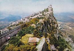 REPUBBLICA S.MARINO. LA ROCCA. ANGELI. CIRCULEE 1980 A BUENOS AIRES - BLEUP - San Marino