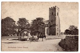 U.K ---SHERINGHAM  --1908--Parish Church  (attelage )  ........  à Saisir - Angleterre