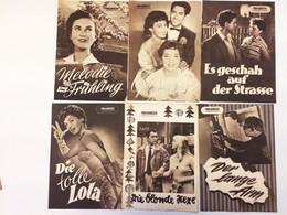 53 PROGRESS-FILMILLUSTRIERTE Und FILMPROGRAMME 1957 - Film & TV