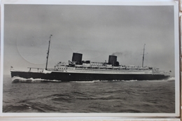 """AK Bremerhaven Norddeutscher Lloyddampfer """"Bremen"""" 1938 Gebraucht #PD625 - Sin Clasificación"""
