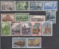 USSR 1947 - 800 Jahre Moskau, Mi-Nr. 1137A/51A, Used - 1923-1991 URSS