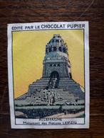 L20/62 Chromo Image Chocolat Pupier. Allemagne. Monument Des Nations Leipzig - Altri