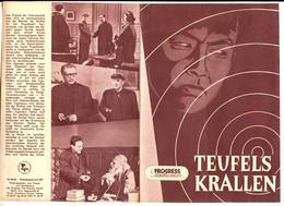 """CUT THE EVIL'S CLAWS"" CHINESE SPY MOVIE 1954 East German Film Program - Film & TV"