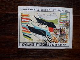 L20/69 Chromo Image Chocolat Pupier. Royaumes Et Duchés D'Allemagne - Altri