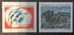 El Salvador - MNH** - 1989 - # 1200/1201 - El Salvador