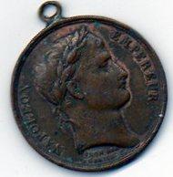Sam-  Médaille Napoléon Empereur - Le Sénat Et Le Peuple - An XIII  - Bronze - Adel