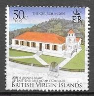 2010 50 Cents Church, Used - British Virgin Islands